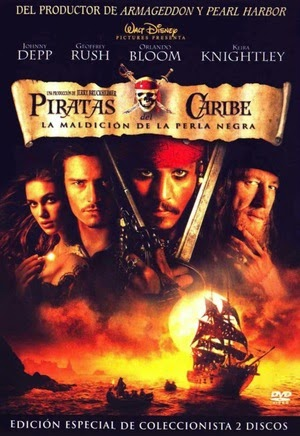 Poster Pirates of the Caribbean: The Curse of the Black Pearl 2003