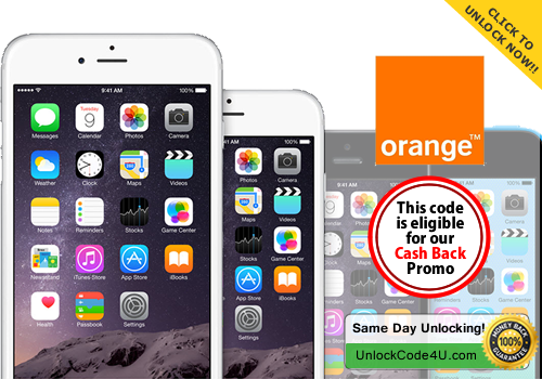iTunes Factory Unlock solution for any iPhone from Orange France