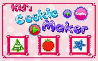 Screenshots of the Kids Cookies Maker for Android tablet, phone.