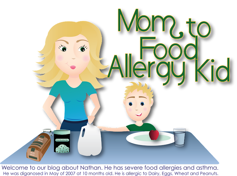 Mom To Food Allergy Kid
