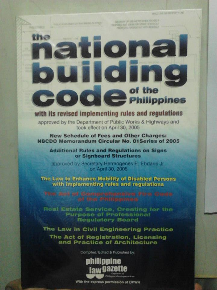 building code of the philippines Republic of the philippines  an act establishing a comprehensive fire code of the philippines  – any building or structure where fifty.