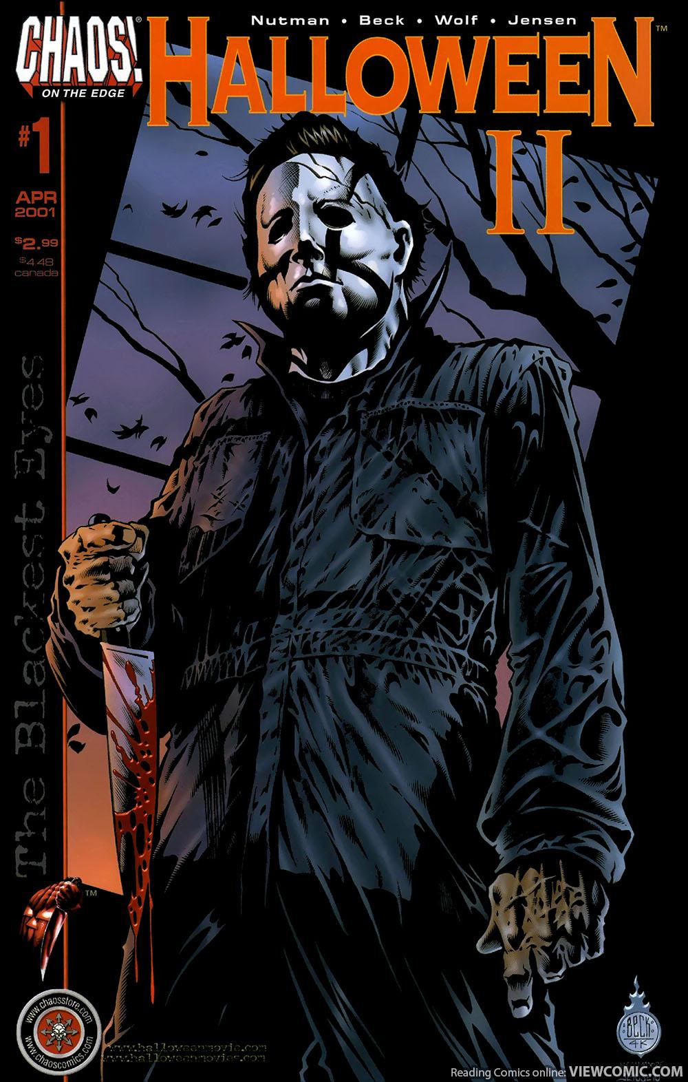 Chaos Comic – Halloween II The Blackest Eyes 01 (2001) | Viewcomic ...