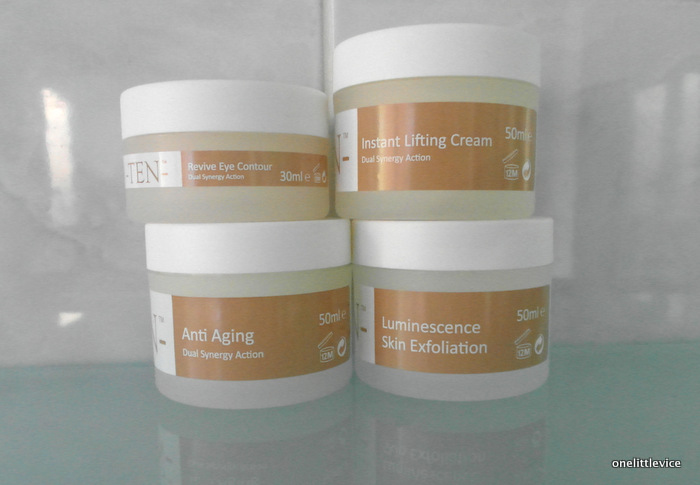 Revive Eye Contour Instant Lifting Cream Anti Ageing Luminescence Exfoliaiton