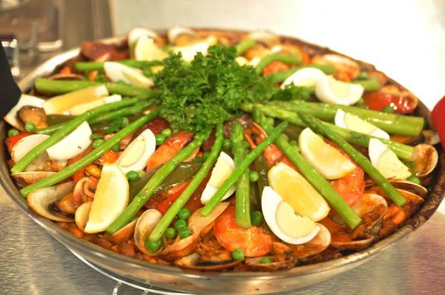 Paella Valenciana Overload Recipe