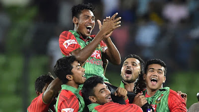 Bangladesh Won Historic Series against India