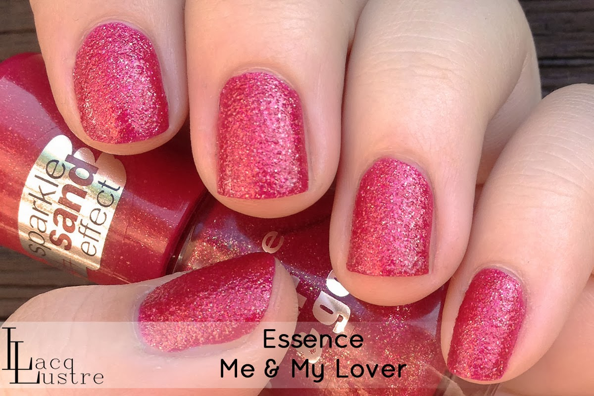 Essence Me & My Lover Sparkle Sand Effect Swatches and Review