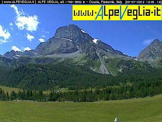 Webcam Alpe Devero Veglia Parco Naturale Piemonte