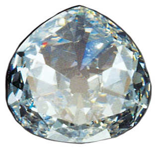 photo of the white premier rose diamond