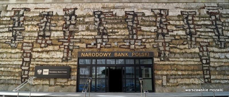 Warszawa Narodowy Bank Polski Świętokrzyska ozdoba