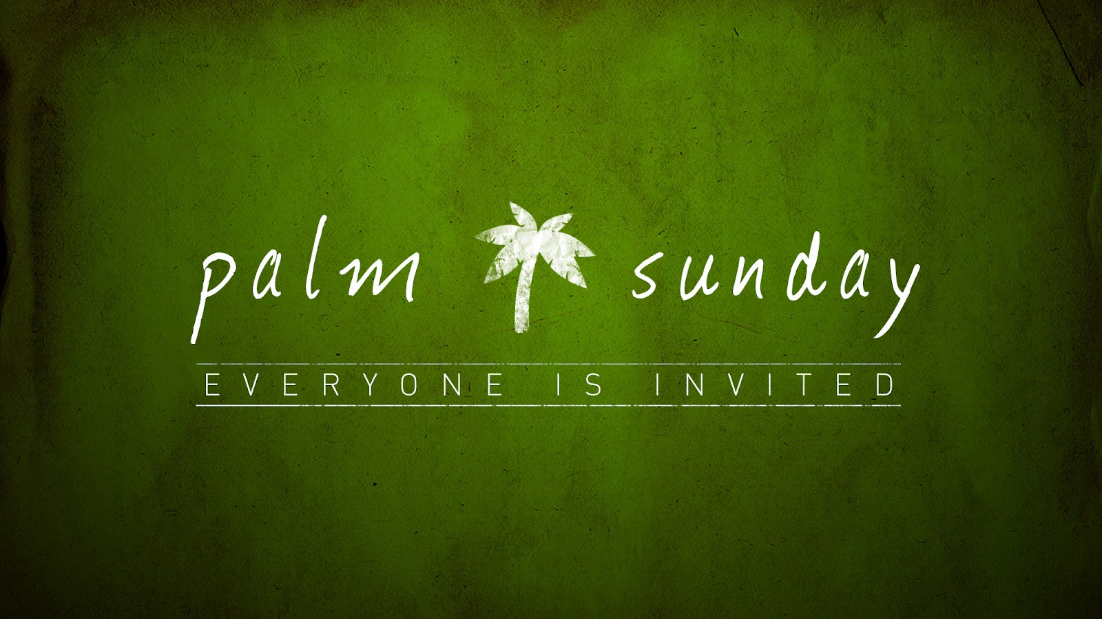Palm Sunday Greetings Wallpapers