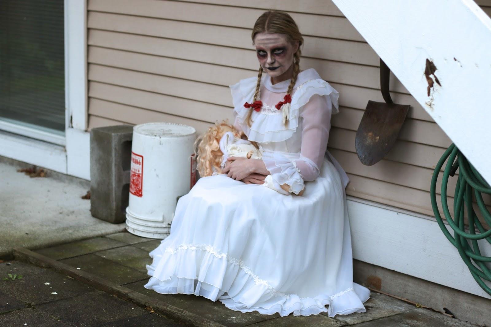 creepy little girl costume