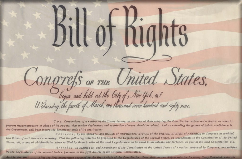 Free Printable Download Of The Bill Of Rights