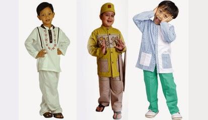 Model busana muslim anak untuk lebaran yang terbaru