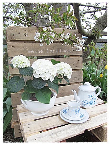 Mein lillys living gartenbank aus paletten - Gartenbank aus paletten ...