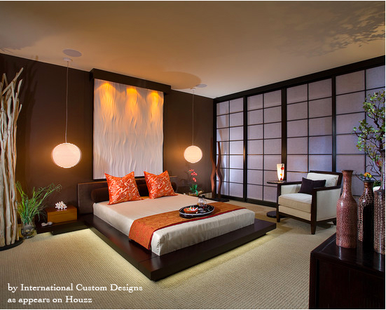 Merveilleux Asian Inspired Bedroom Decor