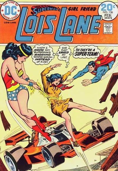 Lois Lane Vs Wonder Woman - Superman