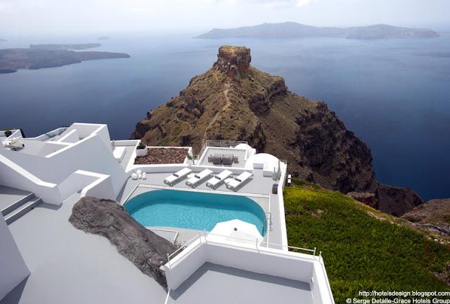 les plus beaux hotels design du monde h tel grace santorini by divercity mplusm santorin grece. Black Bedroom Furniture Sets. Home Design Ideas