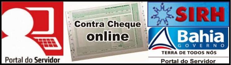 Contra Cheque Estado-Bahia