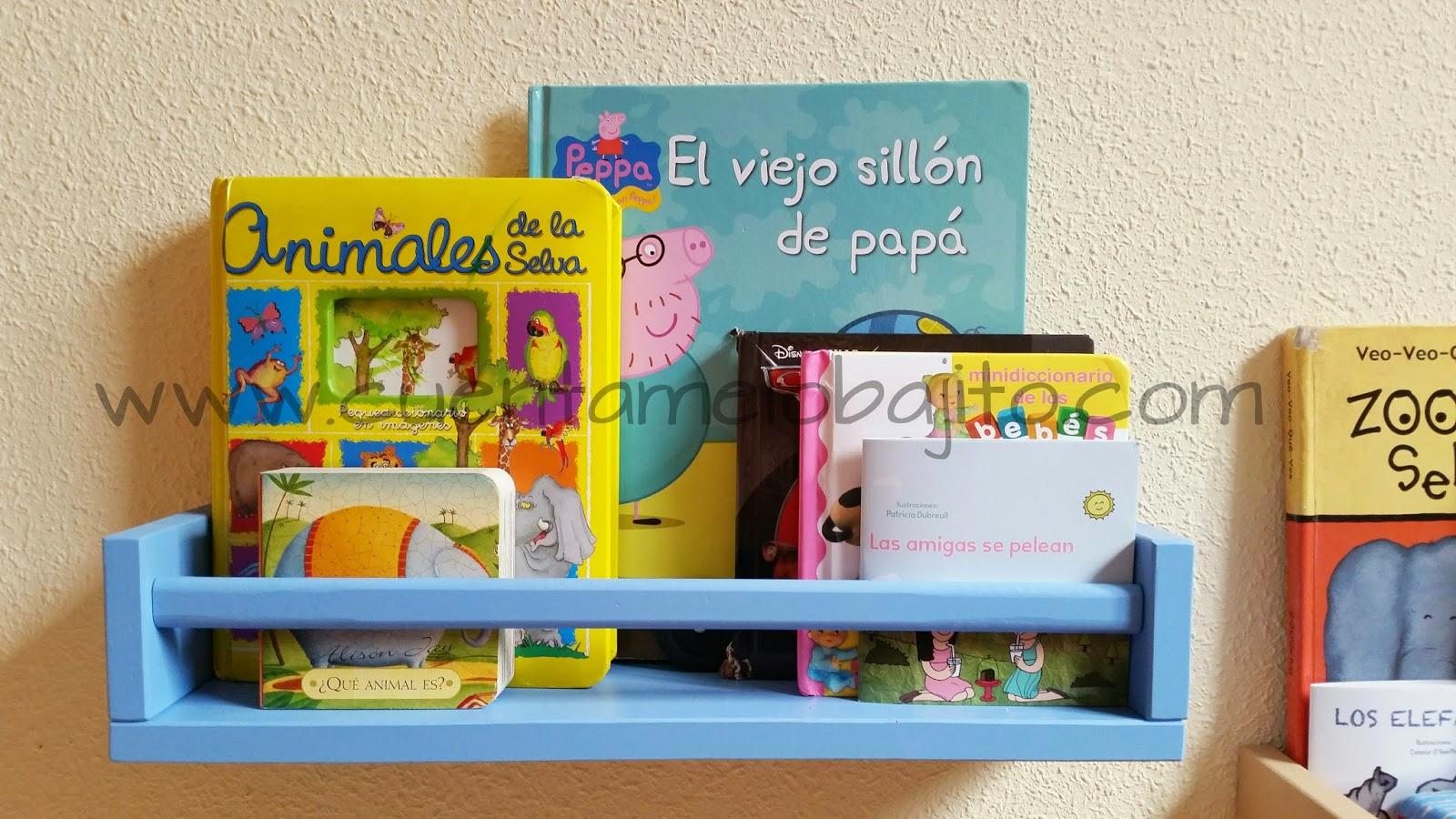 Cu ntamelo bajito c mo hacer una estanter a con un - Ikea estanterias ninos ...