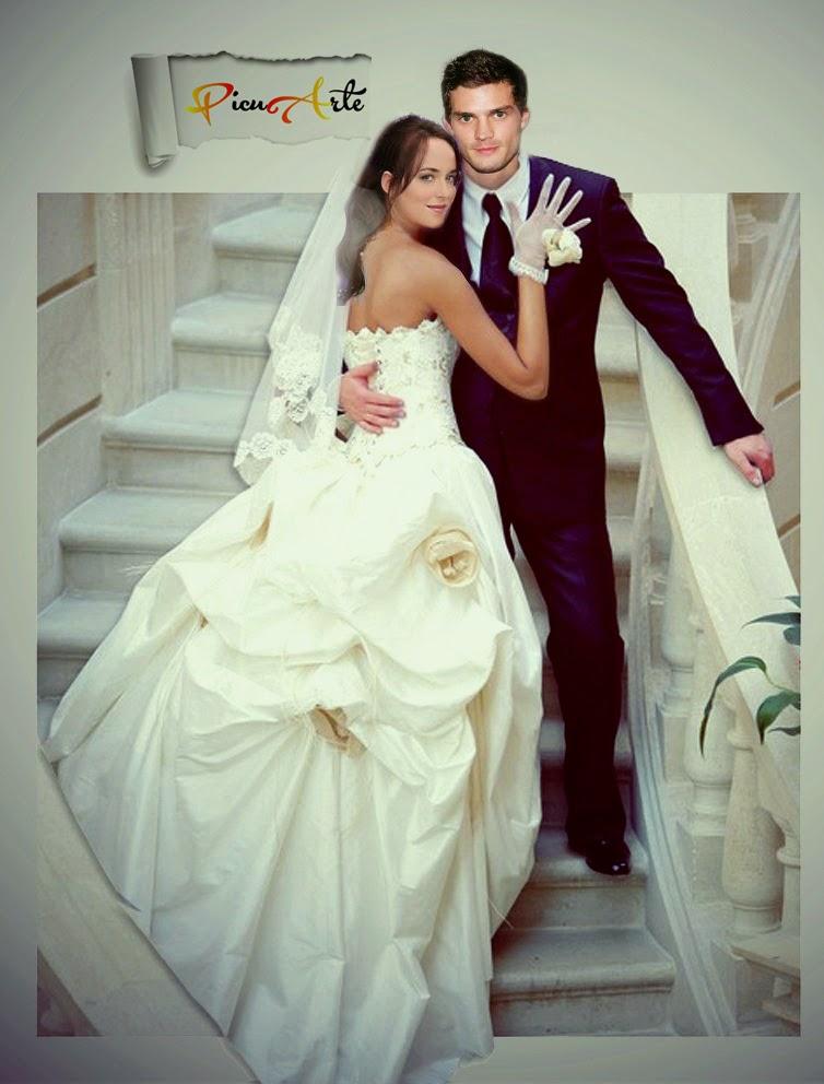 Anastasia Steele Grey Wedding