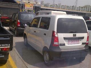 Gambar spy shot mobil Suzuki Wagon R G-II