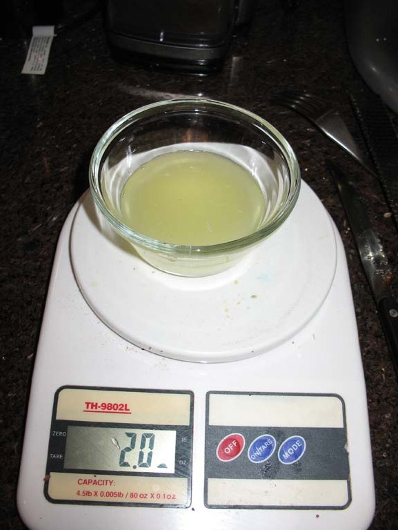 how to prepare a lemon juice enema