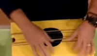Banjo Guitarra casero hecho a partir del reciclaje paso 2