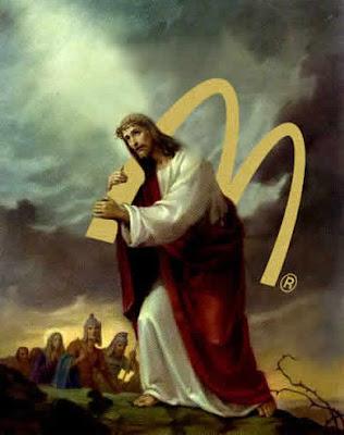 Jesucristo y la Cruz de McDonalds