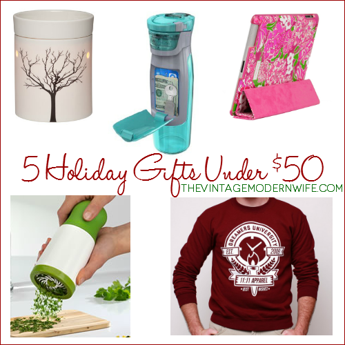 5 unique holiday gift ideas under 50 the vintage modern Christmas presents for wife