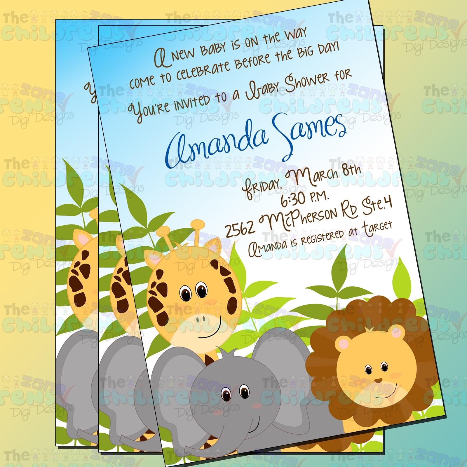 muestra de invitación para baby shower de niño para más