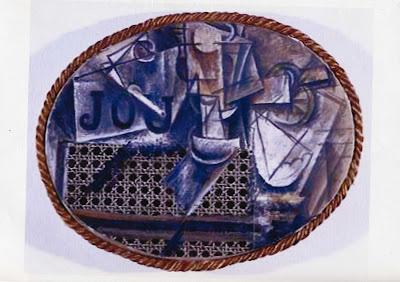 Artplastoc 223 art contemporain la voie du r el - Pablo picasso nature morte a la chaise cannee ...