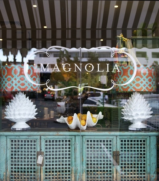 Not only had I heard of Magnolia Interiors, I had pinned many a photo and  had a post in progress which I'm thrilled to share with you today.