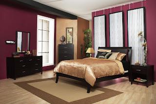 Desain Kamar Tidur Multi Warna Kreatif
