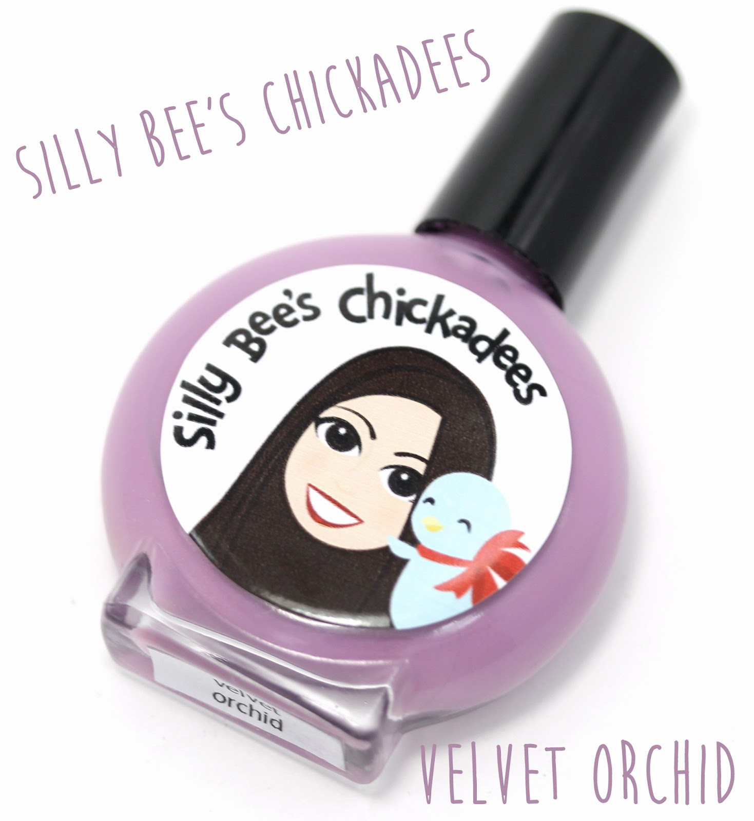 Silly Bee's Chickadees Velvet Orchid