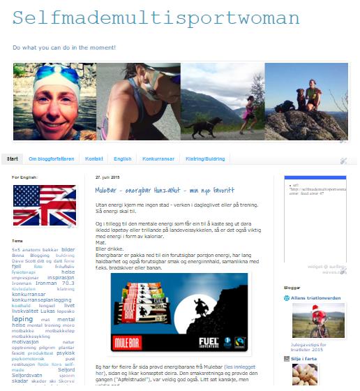 Min blogg nr.2 (2012-2015), handlar om trening, livet, helse og mykje rart.