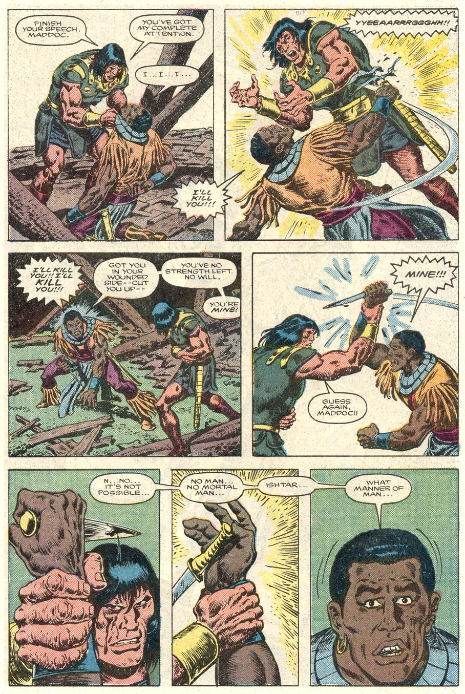 Conan the Barbarian (1970) Issue #184 #196 - English 20