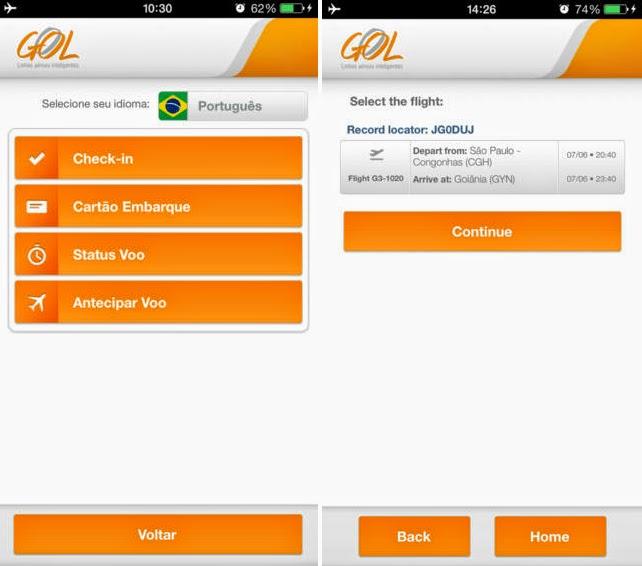 app voos aeroporto geolocalização viagem
