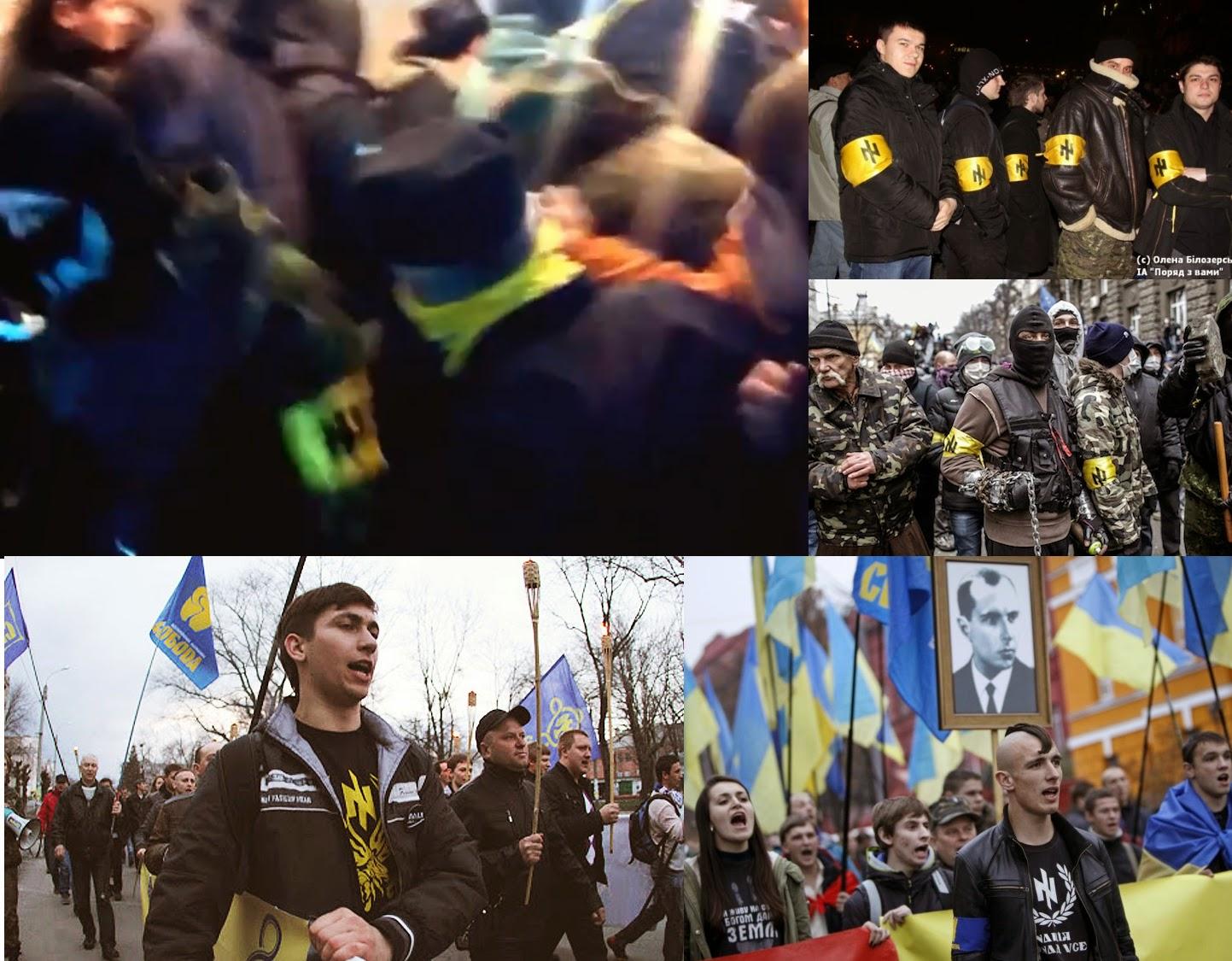 NATOs Pet Nazis Savage Ukrainian Presidential Candidate Svoboda Wolfsangel April2014