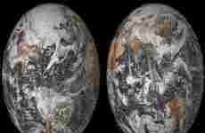 La NASA publicó un mosaico de fotos selfies subidas por usuarios de todo el mundo en el Día de la Tierra