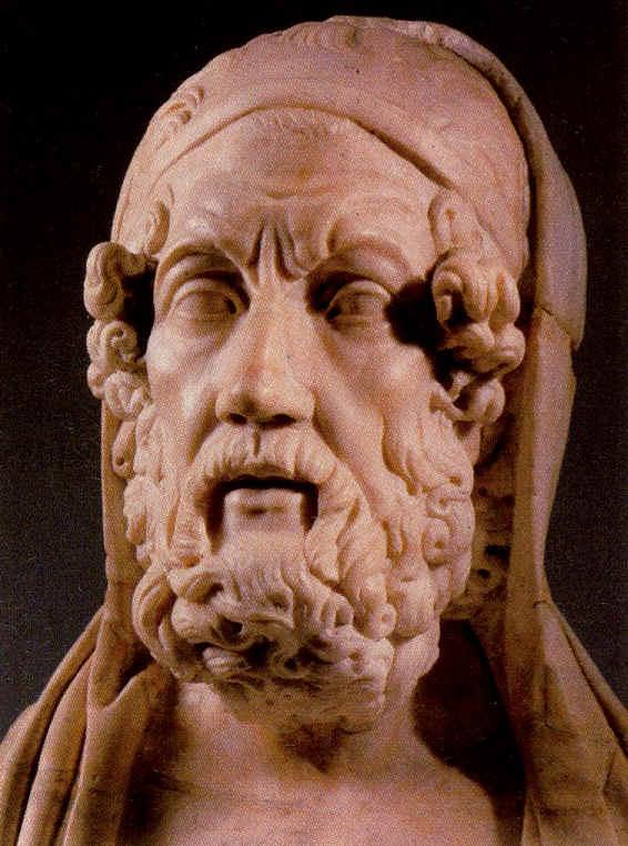 Las más antiguas noticias sobre Homero sitúan su nacimiento en ...