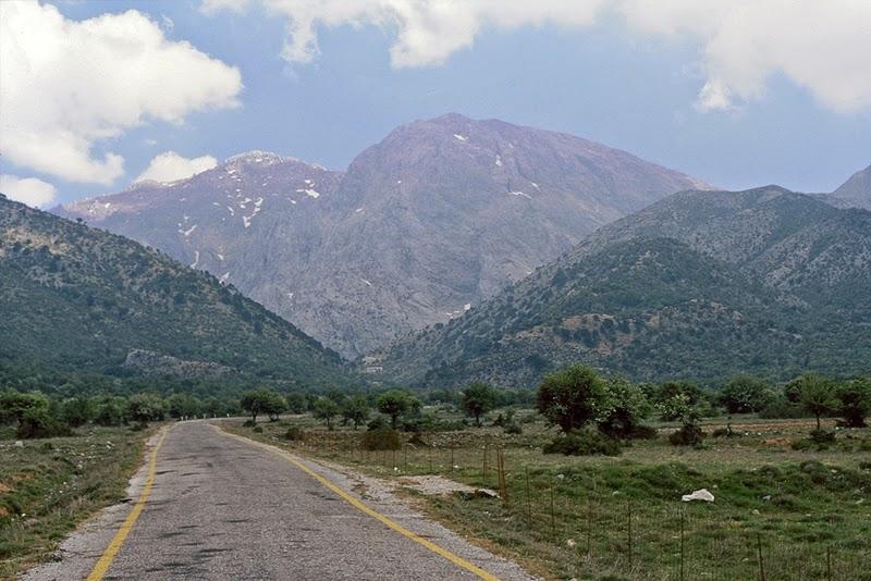 Les montagnes Blanches (Crète, Grèce)
