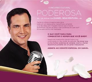 """Concurso Cultural """"Poderosa"""" - Lux"""
