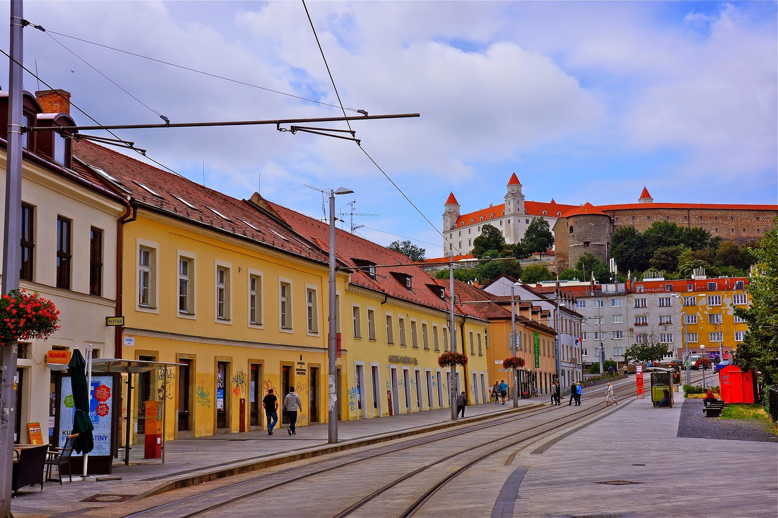 Picture from Bratislava, Slovakia.