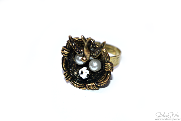 Bird Nest Fashion Ring