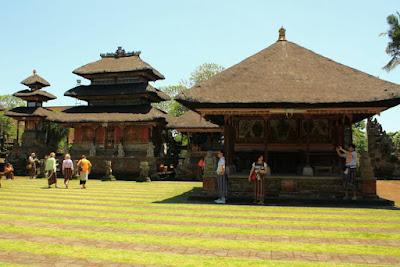 Local dance performance performed at Batuan Bali Indonesia