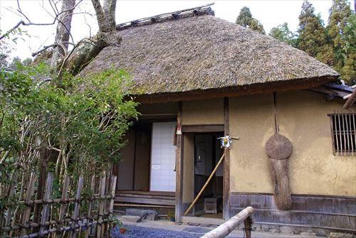 落柿舎(らくししゃ)