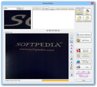 Free Webcam Video Recording Software | RGS-AvaCam