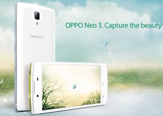 Smartphone Oppo Neo 3 Ponsel Pintar dengan Teknologi Canggih di Dalamnya