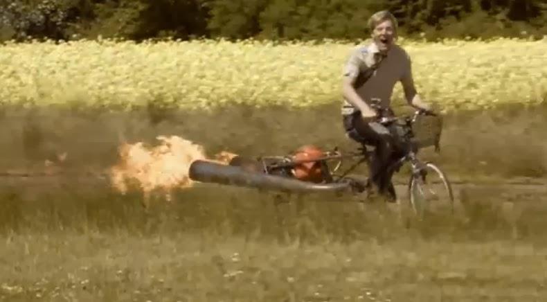 fabricar bicicleta a propulsion
