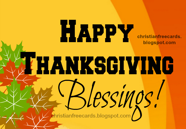 happy thanksgiving day free image